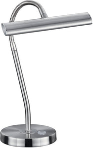 "14""H Curtis LED Desk Lamp Nickel-Matte"