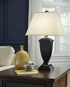 Amerigin Poly Table Lamp (Set of 2) Bronze