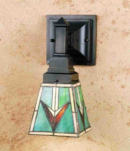 "5""W 1-Light Valencia Mission Wall Sconce"
