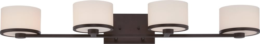"36""W Celine 4-Light Vanity & Wall Venetian Bronze"