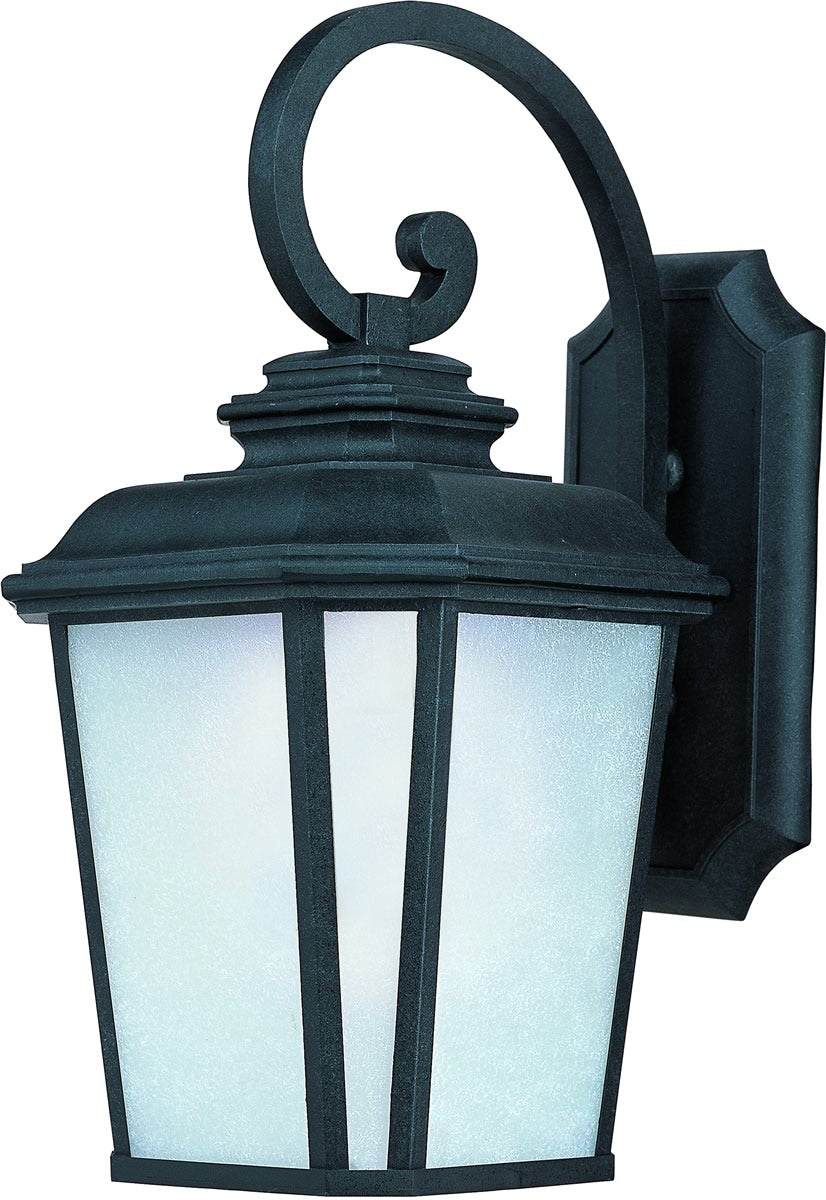 "21""H Radcliffe LED 1-Light Large Outdoor Wall Black Oxide"