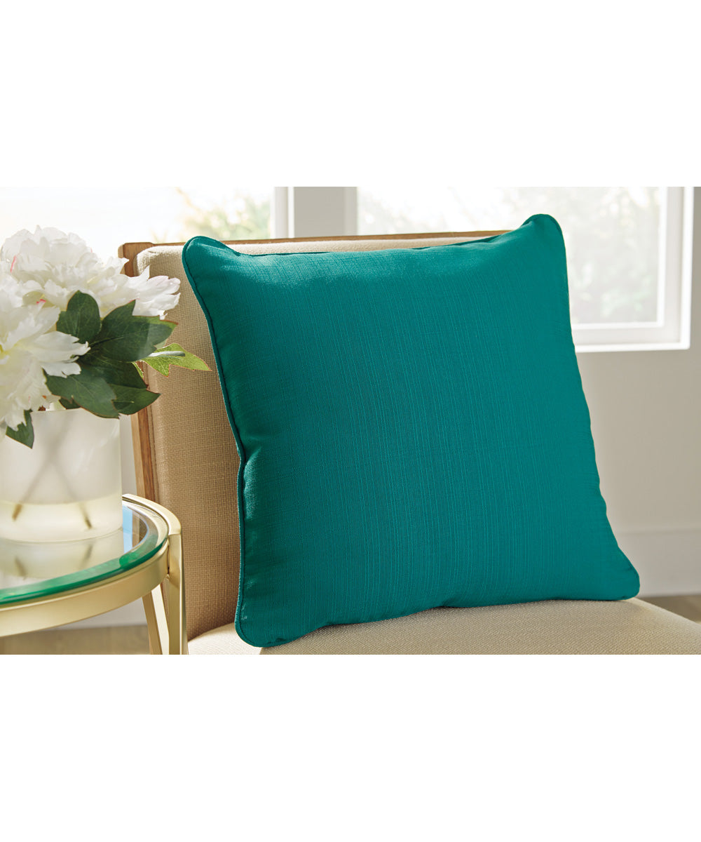 "20""W Jerold Pillow Set of 4 Turquoise"