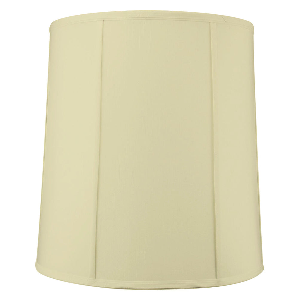 "16""W x 17""H Egg Shell Shantung Drum Lampshade"