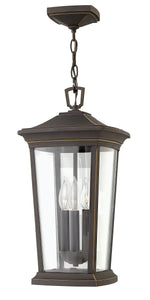Bromley 3-Light Outdoor Hanging Light in Oil Rubbed Bronze
