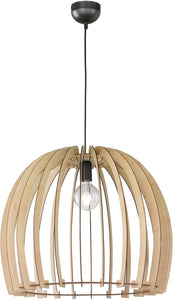 0-002985>Wood 1-Light  Pendant  Wood