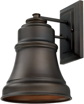 "14""H Outdoor 1-Light Wall Lantern Old Bronze"