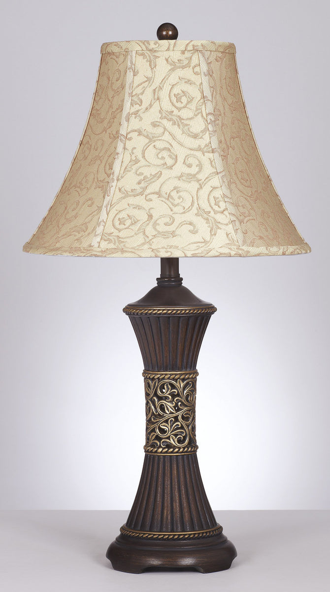 "29""H Set of 2 Mariana Table Lamps Bronze"