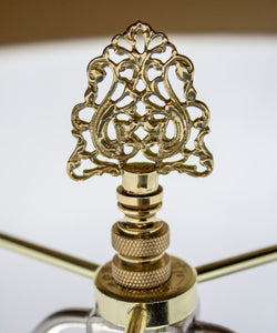 Polished Brass Cipher Finial