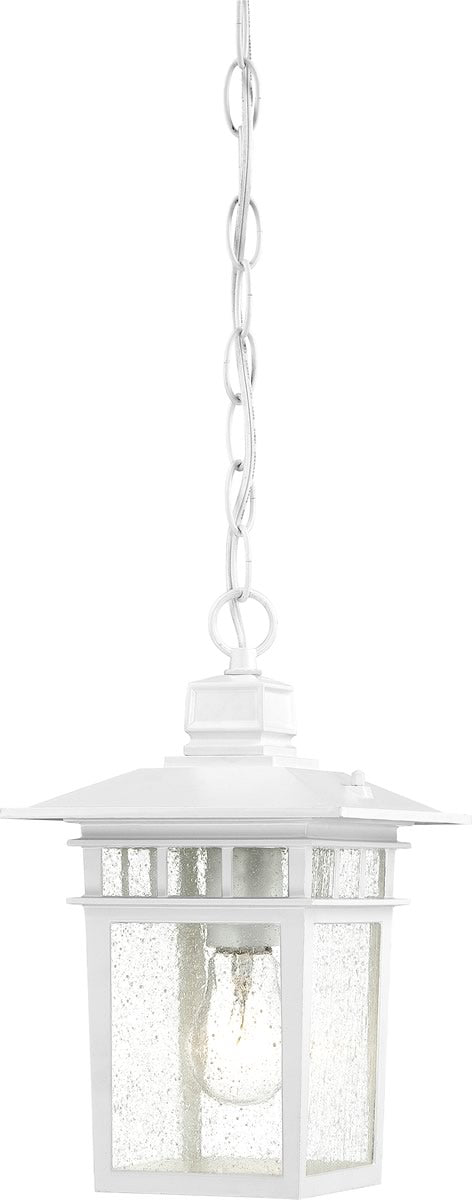 "7""W Cove Neck 1-Light Outdoor White"