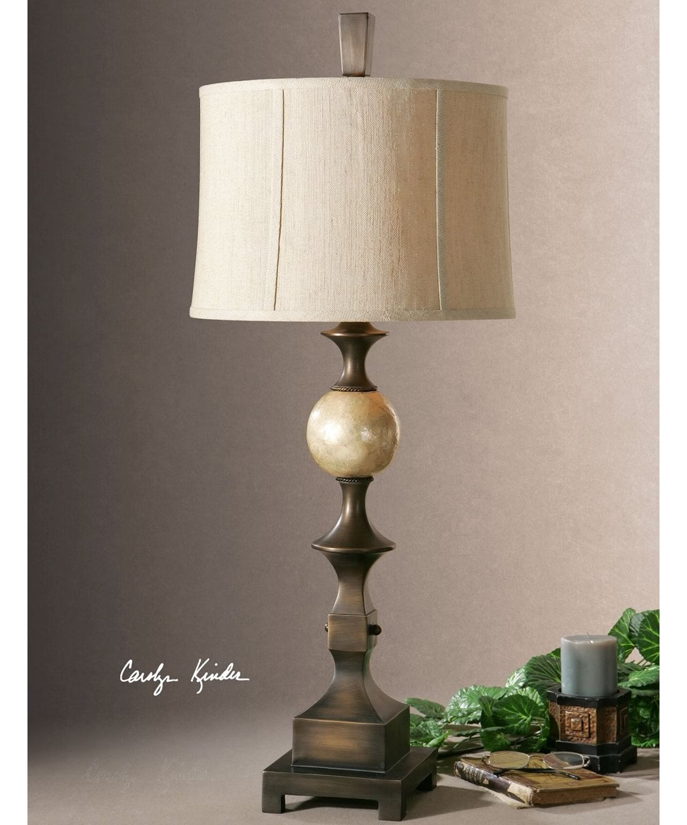 "39""H Tusciano Bronze Table Lamp"