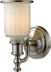 Elk Lighting Acadia 1-Light Bath Light Brushed Nickel 52000/1