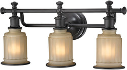 Elk Lighting Acadia 3-Light Bath Light Oil Rubbed Bronze 52012/3