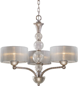 Elk Lighting Alexis 3-Light Chandelier Antique Silver 200083