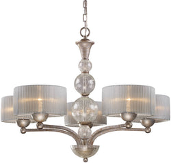 Elk Lighting Alexis 5-Light Chandelier Antique Silver 200095