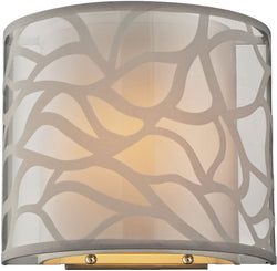 Elk Lighting Autumn Breeze 1-Light Wall Sconce Brushed Nickel 53002/1