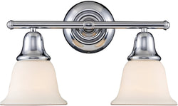 Elk Lighting Berwick 2-Light Bath Vanity Polished Chrome 670112