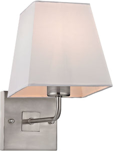 Elk Lighting Beverly 1-Light Wall Sconce Brushed Nickel 17152/1