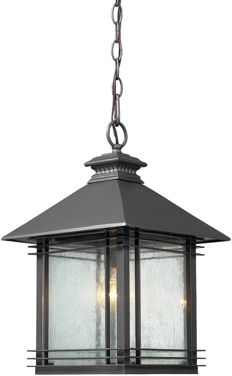"11""w Blackwell 1-Light Outdoor Pendant Graphite"