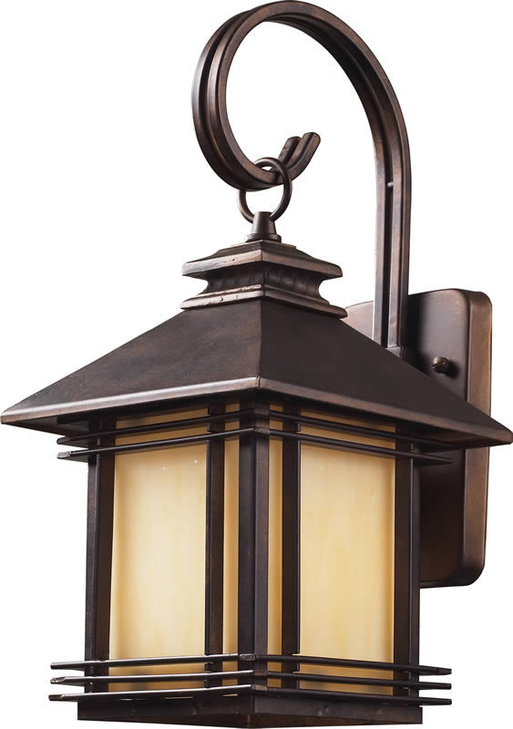 "16""h Blackwell 1-Light Outdoor Wall Lantern Hazelnut Bronze"