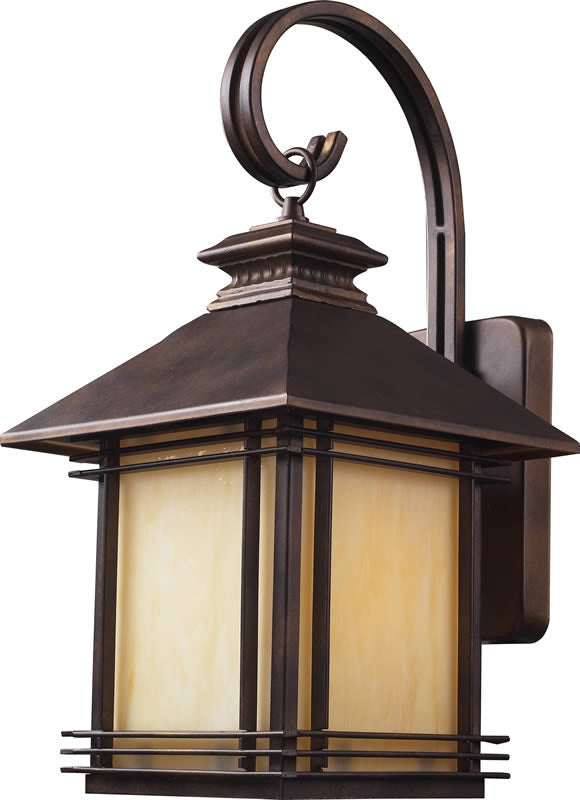 "19""h Blackwell 1-Light Outdoor Wall Lantern Hazelnut Bronze"