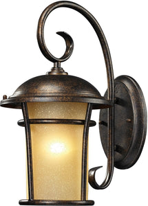 Bolla Vista 1-Light Outdoor Wall Sconce Regal Bronze