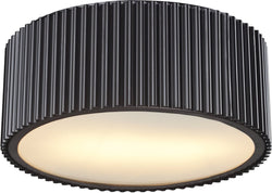 Elk Lighting Brendon 2-Light Flush Mount Oil Rubbed Bronze 66418/2