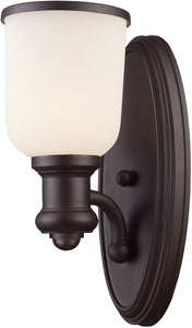 Elk Lighting Brooksdale 1-Light Wall Sconce Oiled Bronze 66670-1