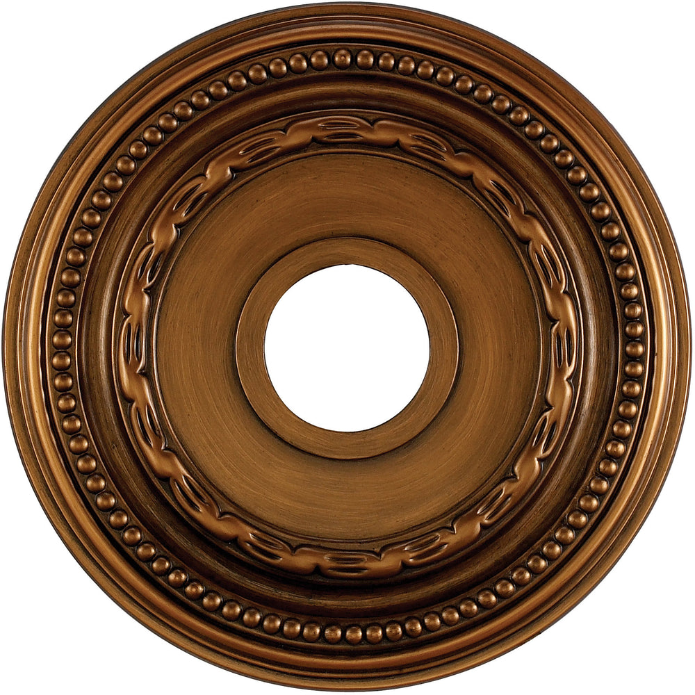 "16""W Campione Ceiling Medallion Antique Bronze"