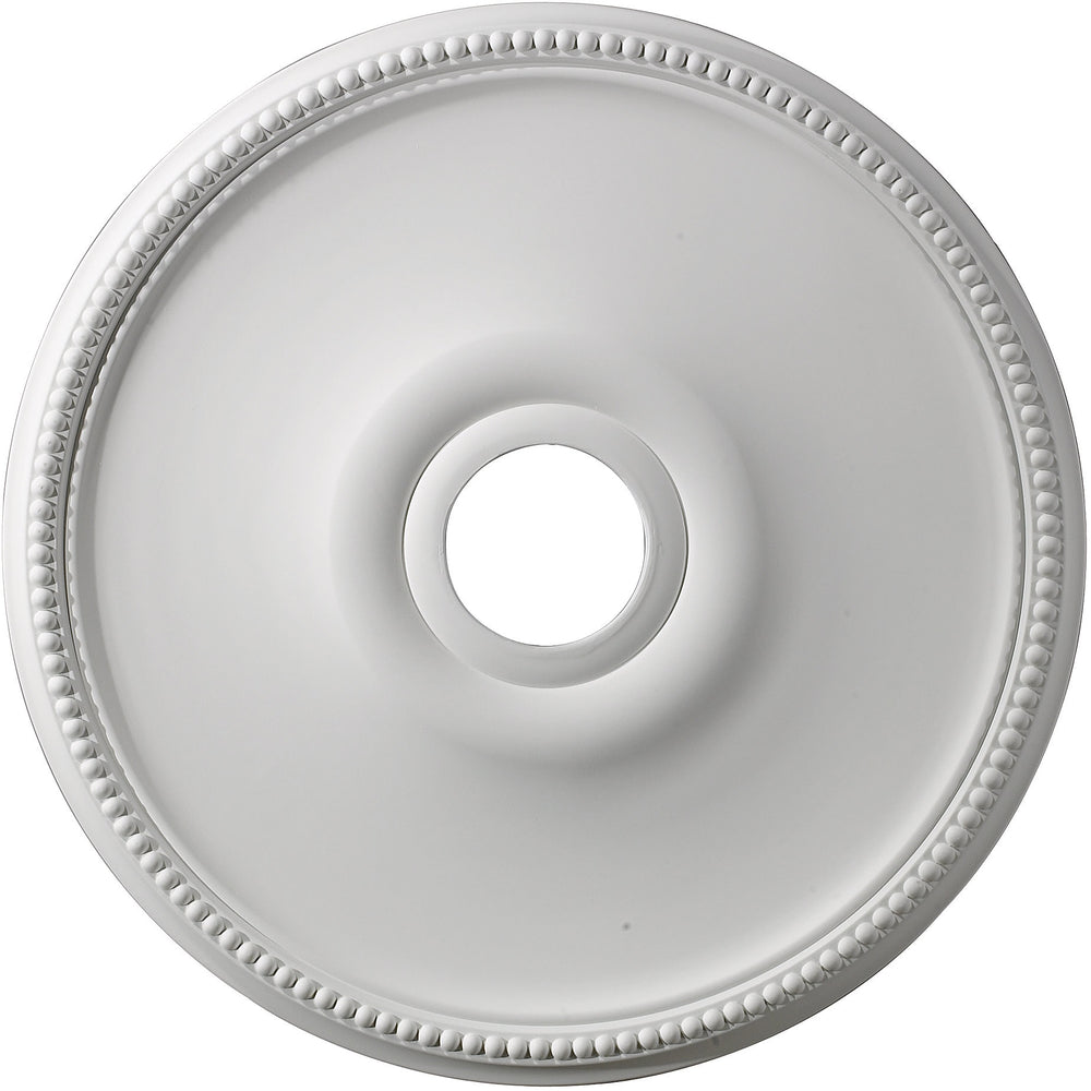 "19""w Brittany Ceiling Medallion White"