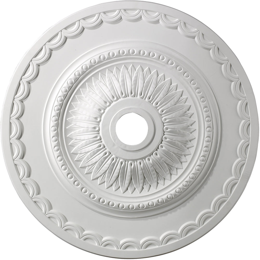 "30""W Brookdale Ceiling Medallion White"