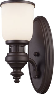 Elk Lighting Chadwick 1-Light Wall Sconce Oiled Bronze 66630-1