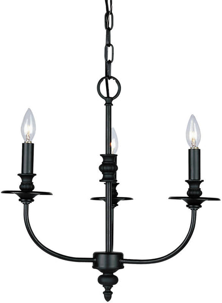 Elk Lighting Hartford 3-Light Chandelier Oil Rubbed 283OB