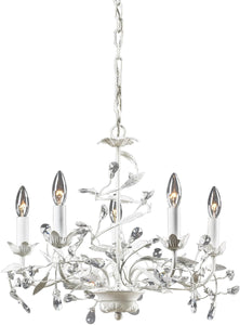 Elk Lighting Circeo 5-Light Chandelier Antique White 181135