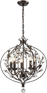 Elk Lighting Circeo 5-Light Chandelier Deep Rust 18136/5