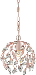 Elk Lighting Circeo 1-Light Pendant Light Pink 18150/1