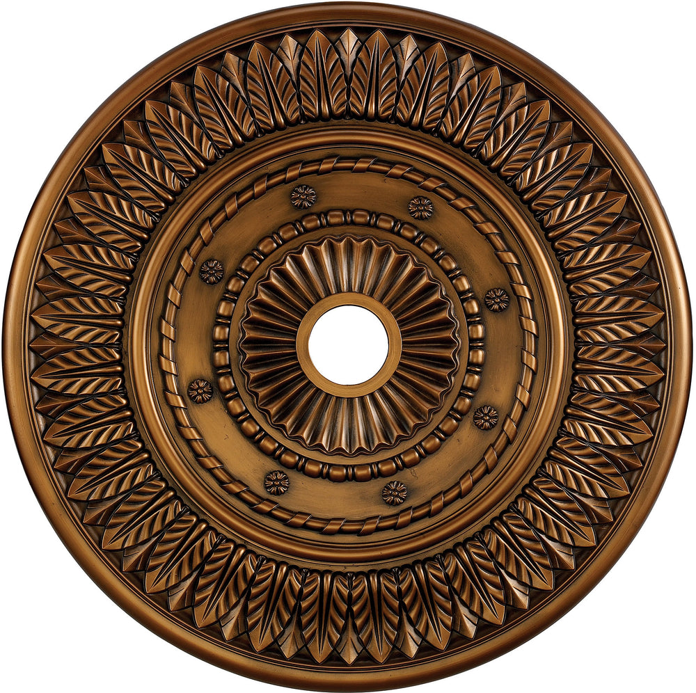 "33""W Corinna Ceiling Medallion Antique Bronze"