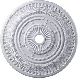 "33""w Corinna Ceiling Medallion White"