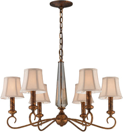 Elk Lighting Crestview 6-Light Chandelier Spanish Bronze 113336