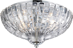 Elk Lighting Crystal 2-Light Flushmount Polished Chrome 312402