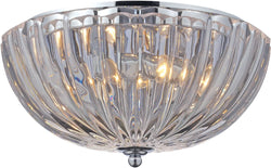 Elk Lighting Crystal Flushmounts 2-Light Flush Mount Polished Chrome 31241/2