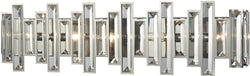 Elk Lighting Crystal Heights 5-Light Vanity Polished Chrome/Clear Crystal 330125