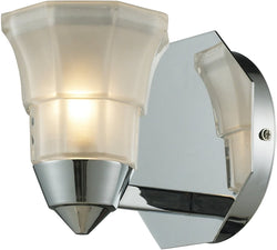 Elk Lighting Deco 1 Light Bathbar Polished Chrome 113901