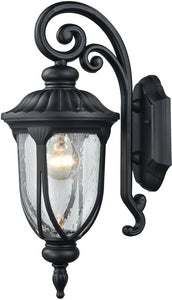 Elk Lighting Derry Hill 1-Light Outdoor Wall Light Matte Black 87100/1