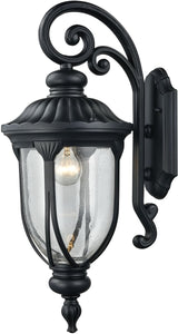 Elk Lighting Derry Hill 1-Light Outdoor Wall Light Matte Black 87101/1