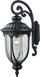 Elk Lighting Derry Hill 1-Light Outdoor Wall Light Matte Black 87102/1