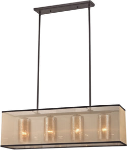 Elk Lighting Diffusion 4-Light Chandelier Oil Rubbed Bronze 57028/4