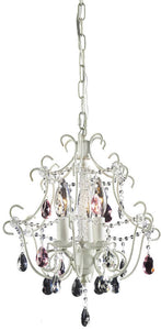Elk Lighting Elise 3-Light Chandelier Antique White 40413