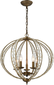 Elk Lighting Elizabethan 5-Light Chandelier Dark Bronze  15965/5