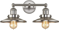 Elk Lighting English Pub 2-Light Bath Light Satin Nickel 67171/2
