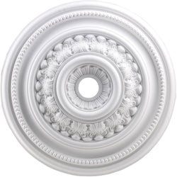 Elk Lighting English Study Ceiling Medallion White M1022WH